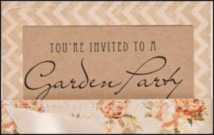 Invite by GlueMeetsPaper on Pinterest