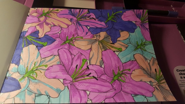 Color blending by Cathy